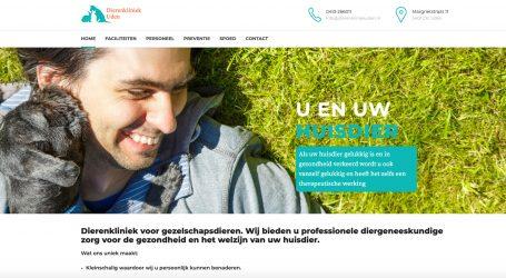 Website Dierenkliniekuden.nl